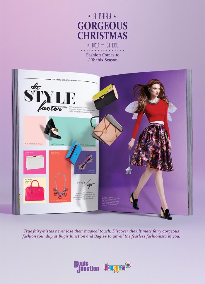 Singapore Shopping Mall – Bugis Junction Bugis+ Christmas Campaign