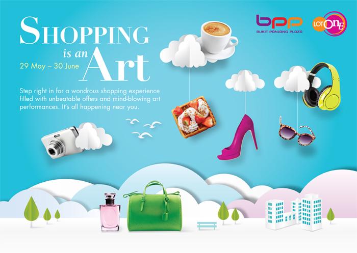 Singapore Shopping Mall – Bukit Panjang Plaza & Lot One Campaign