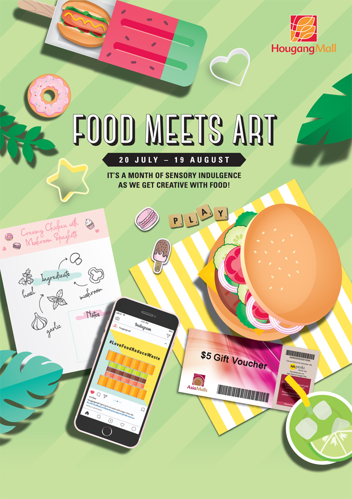 Hougang Mall Food Campaign