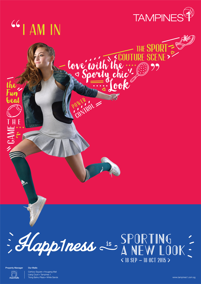Singapore Shopping Mall – Tampines 1 Sports Campaign