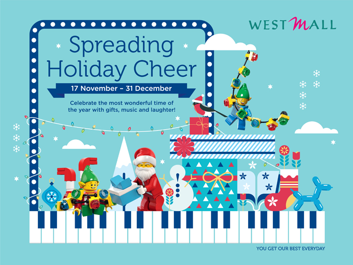 Singapore Shopping Mall – West Mall Christmas Campaign