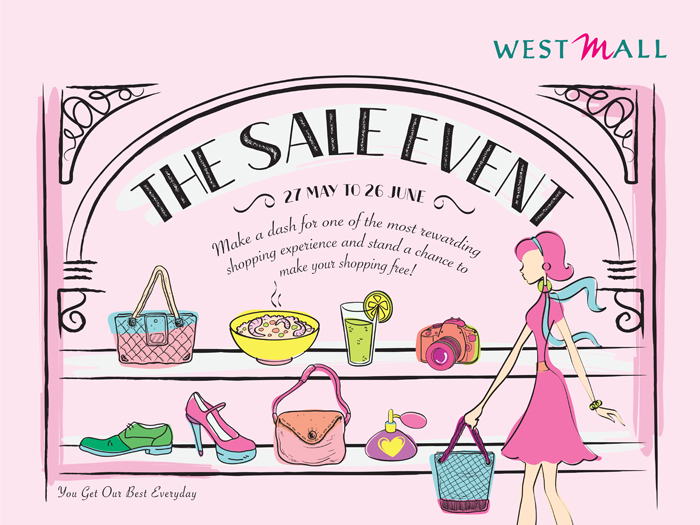 Singapore Shopping Mall – West Mall Great Singapore Sale Campaign