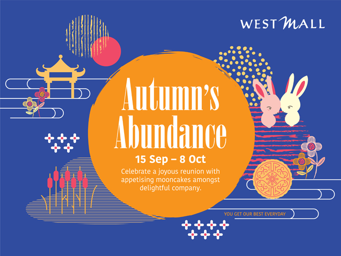 Singapore Shopping Mall – West Mall Mid-Autumn Campaign