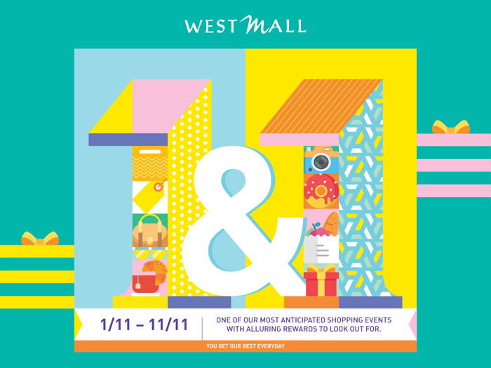 Singapore Shopping Mall – West Mall 11.11 Campaign