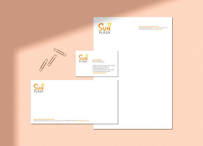 INSIDEOUT Works – Sun Plaza Rebranding Identity
